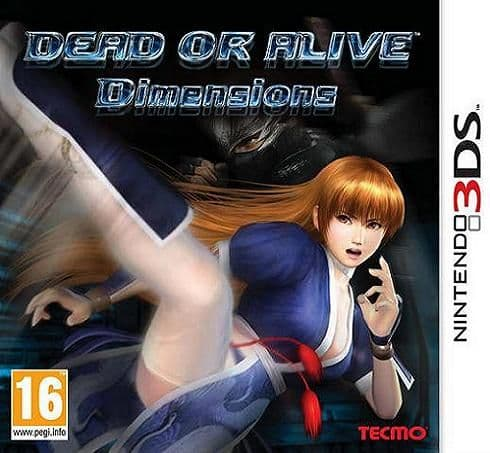 Dead or Alive Dimensions 3DS Game